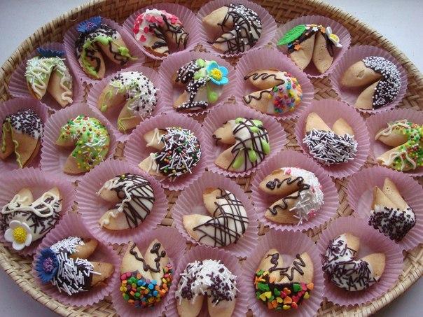 рецепт печенья с предсказаниями в домашних условиях